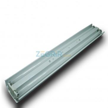 Réflecteur Duo 1,20m 2X40w PM complet sans tube