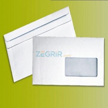 Enveloppe à fenetre à fermeture auto-collante - (Envelfix)