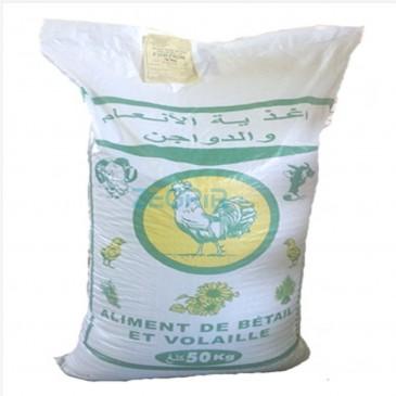 Aliment granulé pour poulet de chair