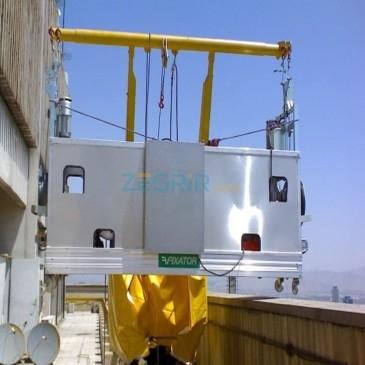Ascenseurs de chantier ( ascenseur sur grue, nacelle, échelle élévatrice