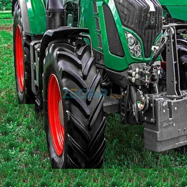 Réparation de pneu d'agricole