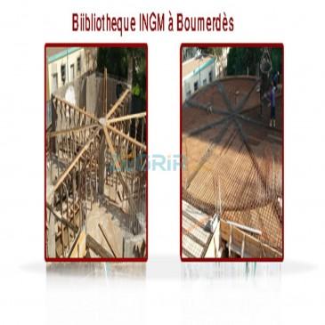 Biibliotheque INGM Boumerdes