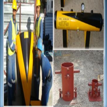 Produits éléments métalliques spécifiques pour chantiers
