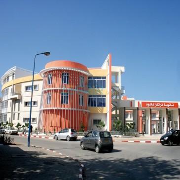 • Blocs Enseignement + Administration au lycée 1000_300 à Beni Amrane