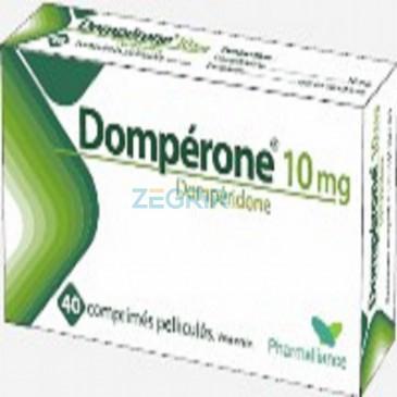 Dompérone Dompéridone Comprimé 10 mg