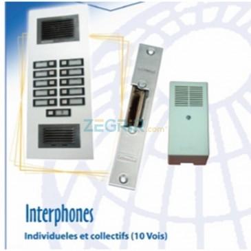 Interphones individueles et collectifs - (10vois)